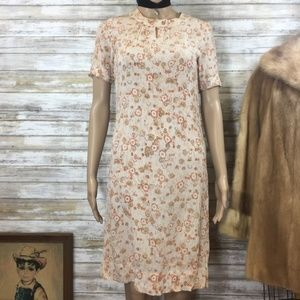 Vintage Handmade Retro 60s Boho Summer Dress